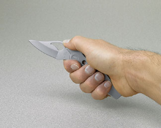 The knife can be used independently as well