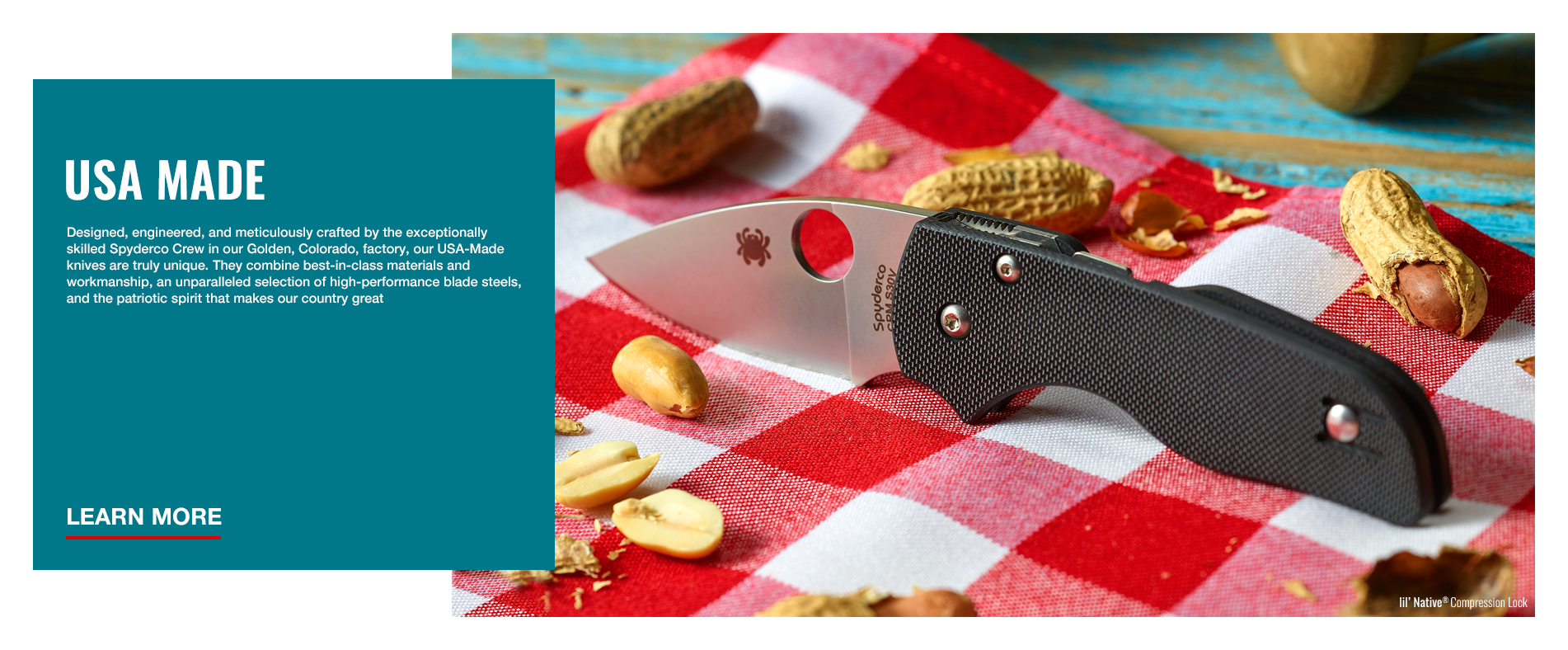 Spyderco, Inc  – First we made things sharp, then we made