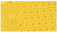 VOLCANO GRIP Znakowana tekstura, kształtem przypominająca wafelki, znajduje się w kilku modelach noży z uchwytami FRN. Jest to ciągły wzór małych kwadratów zapewniający dotykową odporność na poślizg podczas chwytania w dłoń.